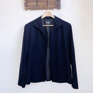Lafayette 148 | Wool Open Front Cardigan Blazer